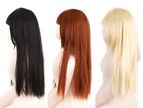 사이드 뷰.  야마토 나데시코적인 흑발에서 금발 소녀까지, 좋아하는 여성의 이미지에 맞게 선택합시다.