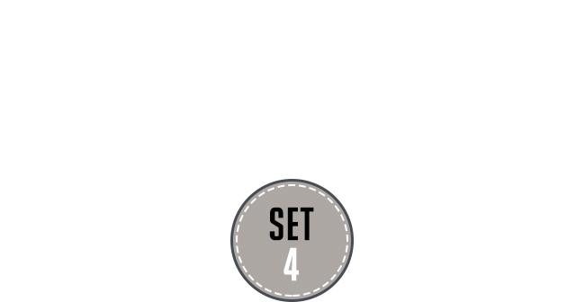 [본디지 세트] 디럭스 본디지 키트 G타입(Lovetoy Deluxe Bondage Kit G) - 러브토이(SM1007)