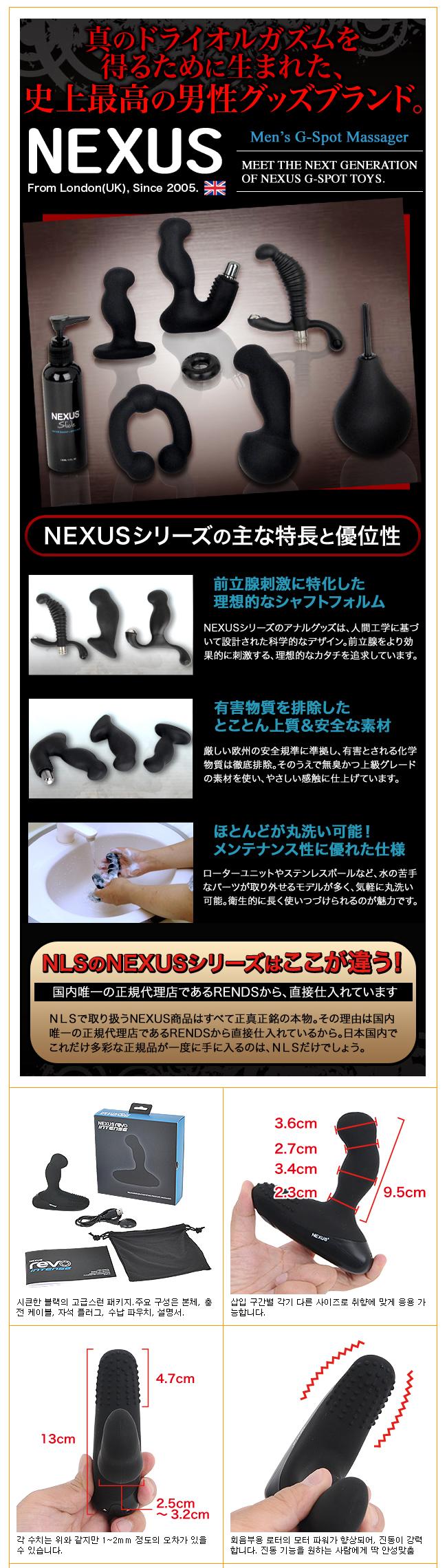 [일본 직수입] 레보 인텐스(Nexus Revo Intense) - 넥서스(5060274220752)