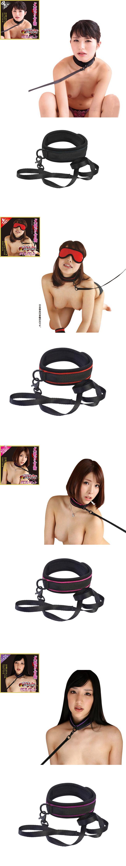 [일본 직수입] SM목줄-포로 벨벳 목줄(虜ベルベット 犬繋ぎ首輪)