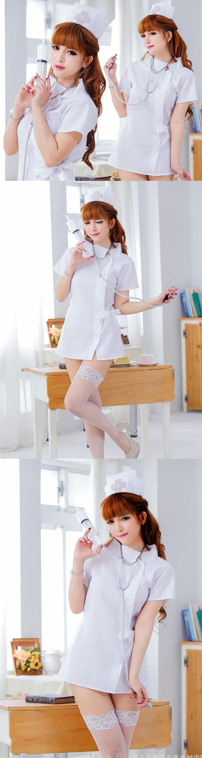 섹시 간호사의 미니원피스[BA_C0110]