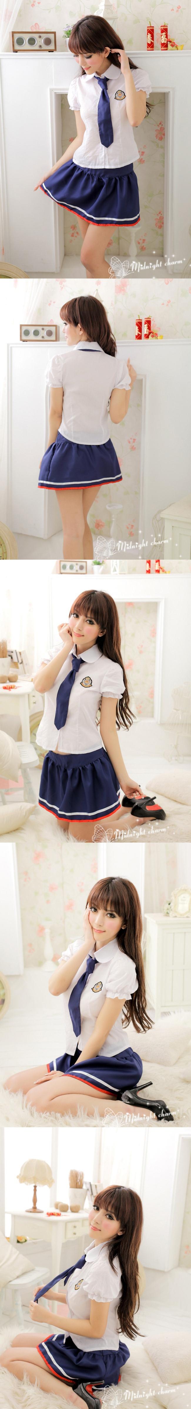 얌전한 스타일 학생교복[BA_C0142]