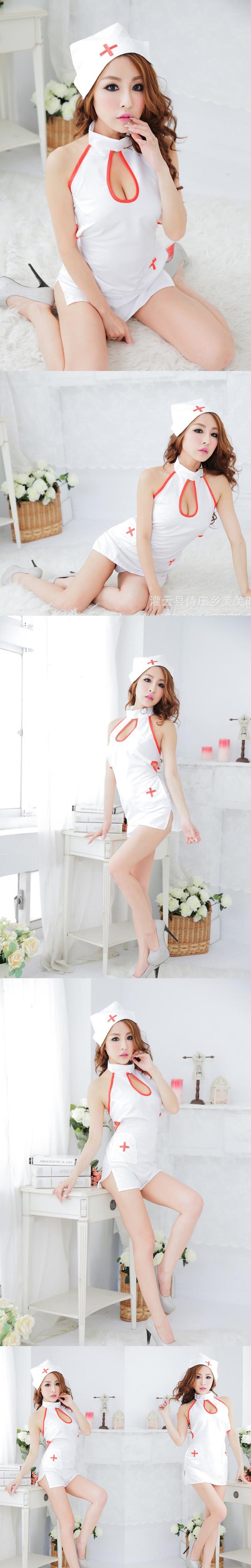 오픈 바스트 섹시 간호사[BA_C0092]