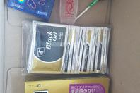 콘돔과 젤 수령후기