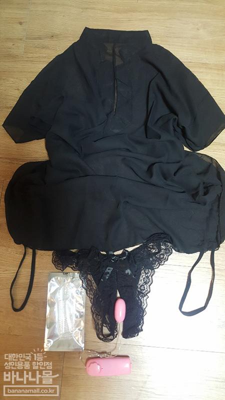 날씬해보이는 시스루셔츠[BA_R0370]+밑트임 레이스 팬티[BA_W0014]+[초저가] 고급 누드 애그