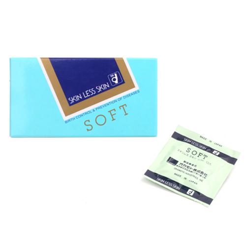 [일본 오카모토] 스킨레스 스킨소프트 1box(10p)  스킨레스시리즈 보급형콘돔 추가이미지2