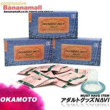 [일본 오카모토] 스킨레스 청쥴리 3박스(30p) - 일명 청바지 콘돔 극초박형 인기제품!!<img src=https://cdn-banana.bizhost.kr/banana_img/mhimg/ticon.gif border=0 />