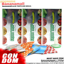 [일본 나가니시] 푸르트 트립 과일종합콘돔 3box(36p) - 링돌출형 4가지 과일향4가지 타입 <img src=https://cdn-banana.bizhost.kr/banana_img/mhimg/icon_01_10.gif border=0>