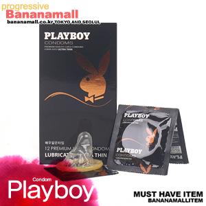 [PLAYBOY] 플레이보이콘돔 울트라씬 1box(12p)