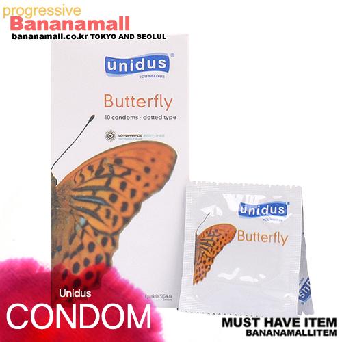 [유니더스/특수초박형] 버터플라이 콘돔 1box(10p)