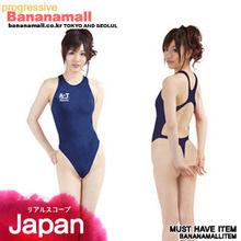 [일본 직수입] 초박형 경기수영복 (薄々競泳水着ネイビー) (NPR)(WCK)