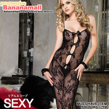 [레그 에비뉴] BOUQUET (LACE BODYSTOCKING (LA89063)