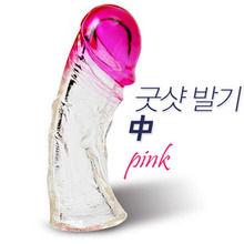 [특수 콘돔] 굿샷 발기-중 투칼라(핑크)