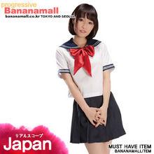 [일본 직수입] 반팔 세일러복(セーラー服レッドリボン) (NPR)(WCK)