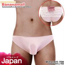 [일본 직수입] 유니섹스 남자의 핑크 리본팬티(ユニセックスギンガムリボンパンティピンク) (NPR)(WCK)