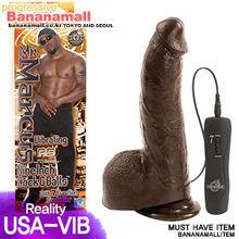 [미국 직수입] Mr 마커스 9inch 진동 고환딜도(Mr Marcus 9inch Vibrating Cock and Balls) (ST)