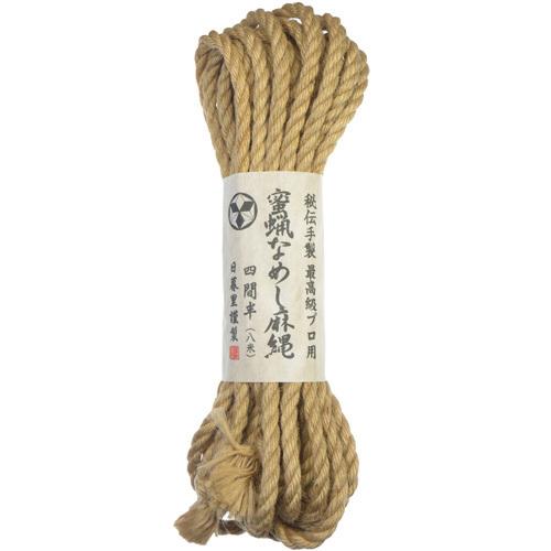 [일본 직수입] 최고급 전문가용 밀납 먹인 SM로프(最高級プロ用 蜜蝋なめし麻縄) (HJK)(NPR) 추가이미지2