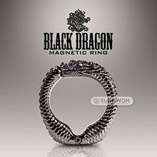 [강력 자석] 블랙 드래곤 마그네틱 링(Black Dragon Magnetic Ring)(DJ)