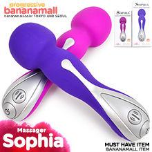 [10단 모드/USB 충전식] 소피아 럭셔리 완드 마사져(Sophia Luxury Wand Massager) - 아프로디시아(52003,52004) (APR)