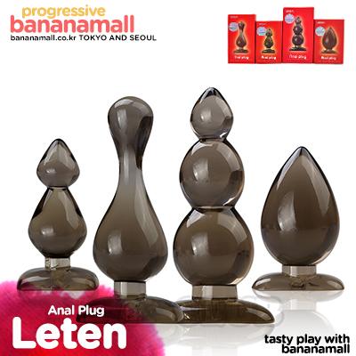 [최고급 실리콘] 애널 플러그 시리즈(Leten Anal Plug) - 레텐(6920995431020) (LTN)(DJ)