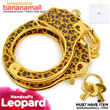 [SM 수갑] 레오파드 에폭시 핸드커프(Roomfun Leopard Epoxy Handcuffs) - 룸펀(PD-010B) (SAH)