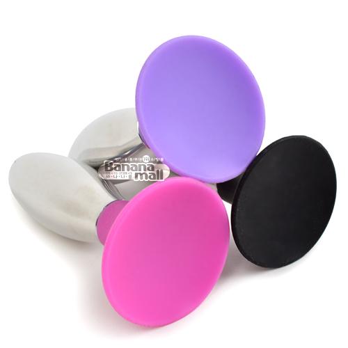 [애널 플러그] 바비 프리미엄 메탈 실리콘 버트 플러그(Lovetoy Bobby Premium Metal-silicone Combined Butt Plug) - 러브토이(LV2708) (LVT)