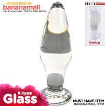 [유리 딜도] 글라스 로맨스(Lovetoy Glass Romance K-type) - 러브토이(GS11C) (LVT)