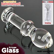 [유리 딜도] 글라스 로맨스(Lovetoy Glass Romance N-type) - 러브토이(GS14C) (LVT)
