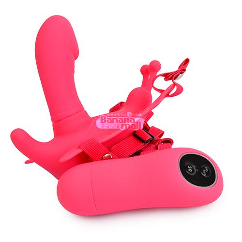 [30단 무선진동] 울트라 패셔닛 하네스 센슈얼 컴포트 스트랩온(Ultra Passionate Harness Sensual Comfort Strap-on) - 바일러(BW-022045) (BIR) -(TJ) 추가이미지3