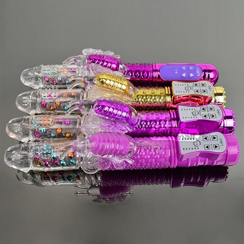 [8단 회전 피스톤+36단 진동] 컬러풀 비즈 버터플라이(Libo Colorful Beads Butterfly) - 리보(LBW-2006-T) (LIBO) 추가이미지2
