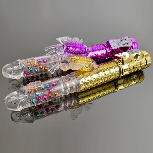 [8단 회전 피스톤+36단 진동] 컬러풀 비즈 버터플라이(Libo Colorful Beads Butterfly) - 리보(LBW-2006-T) (LIBO) 추가이미지5