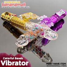 [8단 회전 피스톤+36단 진동] 컬러풀 비즈 버터플라이(Libo Colorful Beads Butterfly) - 리보(LBW-2006-T) (LIBO)
