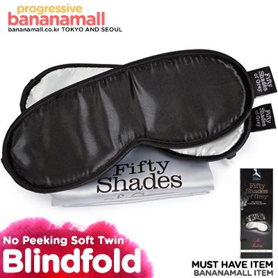 [영국 직수입] 노 피킹 소프트 트윈 블라인드폴드 세트(No Peeking Soft Twin Blindfold Set) - 그레이의 50가지 그림자/러브허니(FS-40177) (LVH)