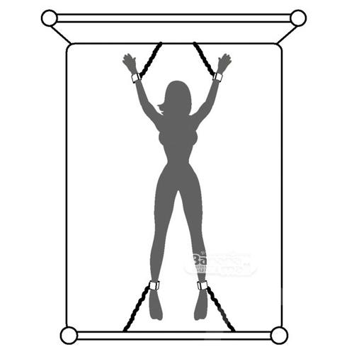 [영국 직수입] 컴플리틀리 히즈 엘라스틱케이티드 베드 스프레더 세트(Completyly His Elasticated Bed Spreader Set) - 그레이의 50가지 그림자/러브허니(FS-57756) (LVH) 추가이미지6