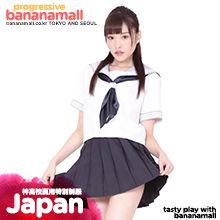 [일본 직수입]  학교 여름 특별 유니폼(神高校夏用特別制服) - 니포리기프트(KA0218NB) (WCK)