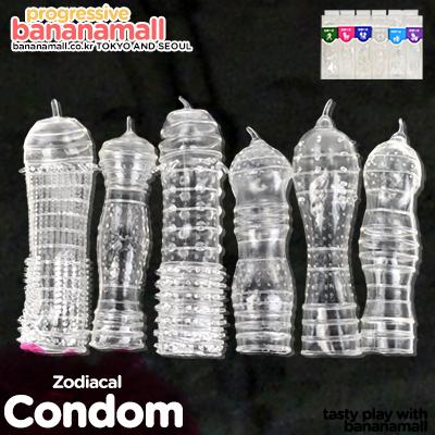 [특수 콘돔] 조디아컬 콘돔(Zodiacal Condom) - 쩡티엔(00406) (JTN)