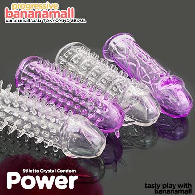 [특수 콘돔] 스틸레토 크리스탈 콘돔(Stiletto Crystal Condom) - 쩡티엔(00157) (JTN)