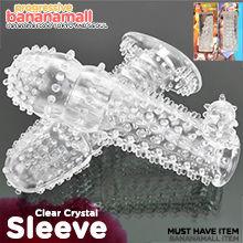 [특수 콘돔] 클리어 크리스탈 슬리브(Clear Crystal Sleeve) - 쩡티엔(0003) (JTN)