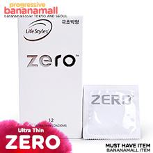 [호주 안셀] 제로 울트라 씬 1box 12p(Ansell Zero Ultra Thin) - 초박형