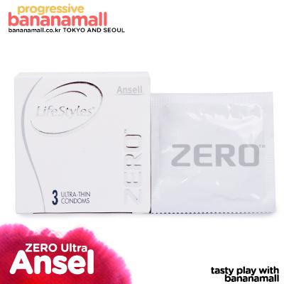 [호주 안셀] 제로 울트라 씬 1box 3p(Ansell Zero Ultra Thin) - 초박형
