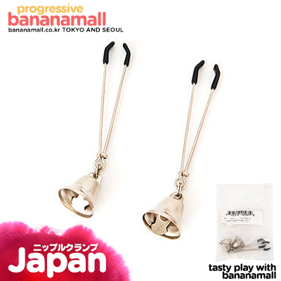 [일본 직수입] 벨 첨부 젖꼭지 클램프(ベル付きニップルクランプ) (RNS)