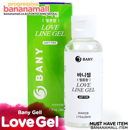 [국산 러브젤] 바니젤 멜론향 50ml(BANY Love Line Gel 50ml)