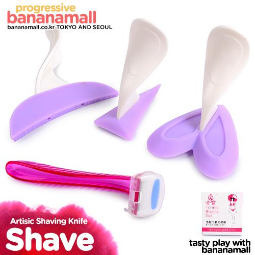 [제모 플레이] 아티스틱 쉐이빙 나이프(Artisic Shaving Knife) - 지우아이(JAI-E013) (JAI)(TSN)