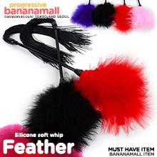 [실리콘 채찍] 실리콘 소프트 휩 페더(Silicone soft whip feather) - 지우아이(JAI-SM038) (JAI)