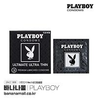 [미국 PLAYBOY] 플레이보이 얼티메이트 울트라 씬 1box 3p(Playboy Ultimate Ultra Thin) - 극초박형