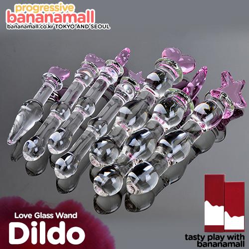 [유리 딜도] 러브 글래스 완드(Love Glass Wand) - 미지(6937486608830) (MIZ)(DJ)