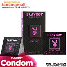 [미국 PLAYBOY] 플레이보이 콘돔 초박밀착형 10P(Playboy Condoms Real Tight 10P)