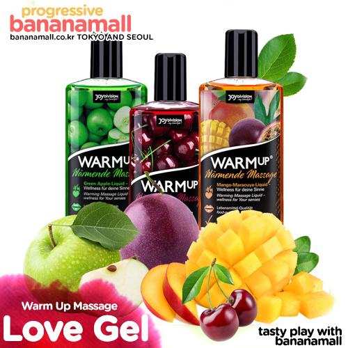 [과일향 발열젤] 웜업 마사지 핫 젤 150ml(Warm Up Massage Hot Gel)[NR]