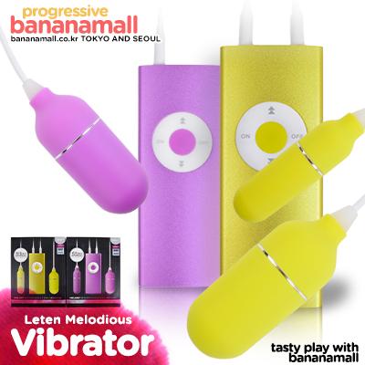 [어른이날] [20단 진동] 멜로디 리차저블 에그 바이브레이터(Leten Melody Rechargeable Egg Vibrator) - 레텐(LT3007) (LTN)