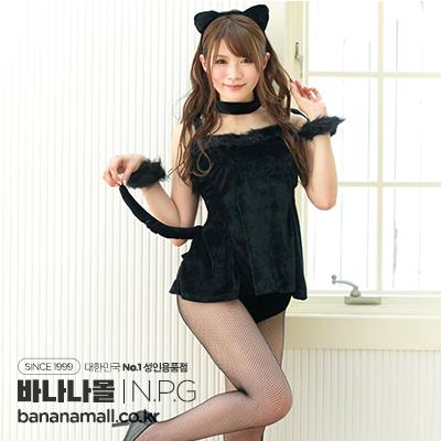 [일본 직수입] 아이자와 미나미의 마음에 든 코스츔 블랙 캣(相沢みなみのお気に入りコスチューム ブラックキャット) - 니포리기프트(CL-6369) (NPR)